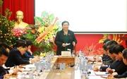 Phó Chủ tịch Quốc hội Tòng Thị Phóng thăm, làm việc với BHXH Việt Nam