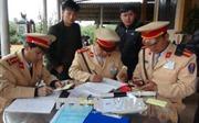 Ra quân xử lý các phương tiện vi phạm an toàn giao thông
