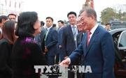 Tổng thống Hàn Quốc dự lễ động thổ xây dựng Viện Khoa học và Công nghệ Việt Nam - Hàn Quốc