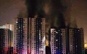 TP Hồ Chí Minh: Cháy kinh hoàng ở chung cư, 13 người thiệt mạng, nhiều người bị thương