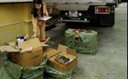 Cảnh sát giao thông Thanh Hóa bắt giữ 5 tấn pháo điện