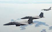 Hàn Quốc nối lại hoạt động của máy bay chiến đấu sau vụ rơi máy bay F-15K