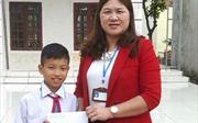 Hà Tĩnh: Học sinh nghèo nhặt được hàng chục triệu đồng tìm người đánh mất trả lại