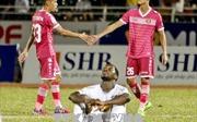 Hoàng Anh Gia Lai thất thủ 1-3 trước Sài Gòn FC