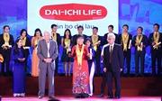 Dai-ichi Life Việt Nam được vinh danh công ty bảo hiểm nhân thọ hàng đầu tại Việt Nam