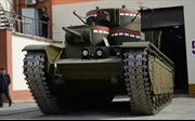 Xe tăng 5 tháp pháo huyền thoại của Liên Xô 'tái xuất giang hồ'