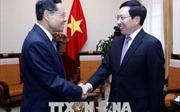 Phó Thủ tướng Phạm Bình Minh tiếp Chủ tịch Chính quyền Khu tự trị dân tộc Choang Quảng Tây