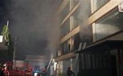 Kịp thời dập tắt vụ cháy lớn tại 2 nhà xưởng ở quận Hoàng Mai