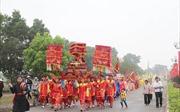 Lễ hội truyền thống gợi nhớ trang sử hào hùng trên sông Bạch Đằng