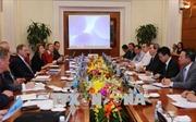 Trưởng Ban Kinh tế Trung ương tiếp Đoàn chuyên gia quốc tế về lĩnh vực năng lượng
