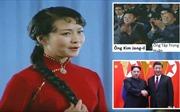 Video hiếm hoi lãnh đạo Trung - Triều xem bà Bành Lệ Viện biểu diễn