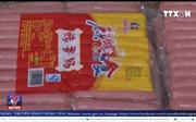 Cao Bằng bắt giữ hơn 1 tấn gà, vịt, xúc xích, bia nhập lậu