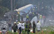 Hiện trường vụ rơi máy bay khiến cả trăm người chết tại Cuba