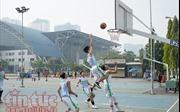 120 đội tham gia giải bóng rổ Festival trường học TP Hồ Chí Minh 2018
