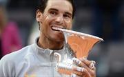 Nadal lần thứ 8 vô địch Rome Masters, giành lại ngôi vị số 1 thế giới