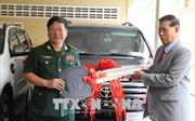 Việt Nam trao tặng quà cho Mặt trận Đoàn kết và Phát triển Tổ quốc Campuchia