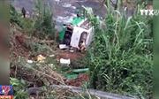 Một gia đình có tới 7 người bị thương trong chuyến xe bị tai nạn trên đèo Lò Xo