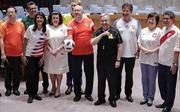 Khi cơn sốt World Cup tràn vào cả phòng họp Liên hợp quốc