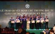 """17 biên bản ghi nhớ giữa Hà Nội và các tổ chức, doanh nghiệp tại Hội nghị """"Hà Nội 2018 - Hợp tác Đầu tư và Phát triển"""""""