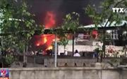 Cháy lớn tại Uông Bí, Quảng Ninh