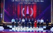 Lễ trao Giải Báo chí quốc gia lần thứ XII năm 2017