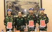Trung tá Lê Ngọc Sơn: Dấu ấn Bộ đội Cụ Hồ ở Trung Phi