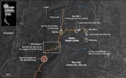 Địa hình hiểm trở của hang Tham Luang