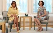 Thượng đỉnh Mỹ-Nga: Bà Trump diện đồ Gucci, từ chối thương hiệu Phần Lan