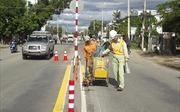 Đề nghị giữ nguyên sơn kẻ vạch đường, biển báo tại Quốc lộ 18 qua tỉnh Hải Dương