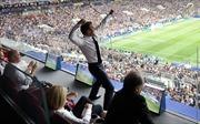 Tổng thống Macron tươi hết cỡ khi Pháp vô địch World Cup 2018