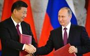 Căng thẳng với Mỹ, Nga-Trung tìm đến nhau bàn quan hệ chiến lược